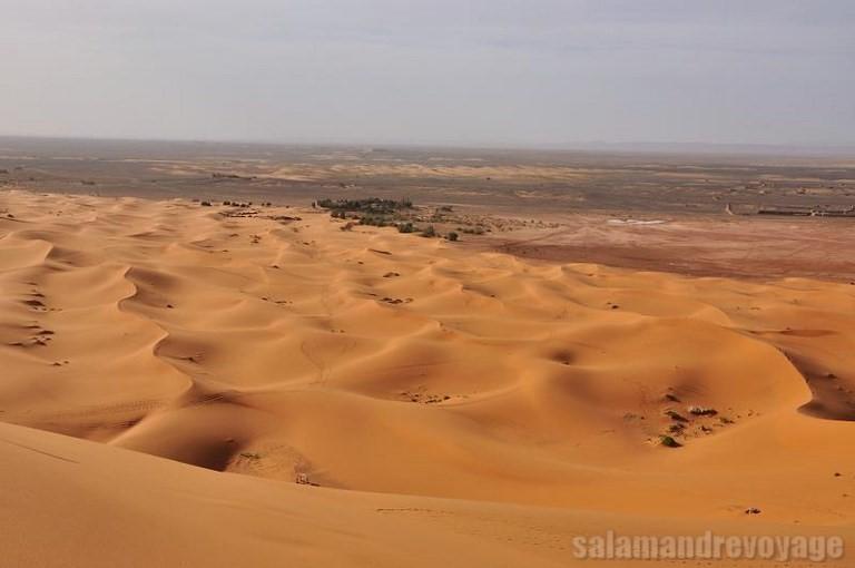 voyage au désert Marocin